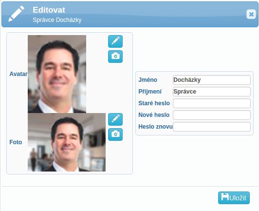 editace profilu